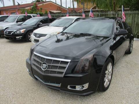 2009 Cadillac CTS for sale at K & V AUTO SALES LLC in Hollywood FL