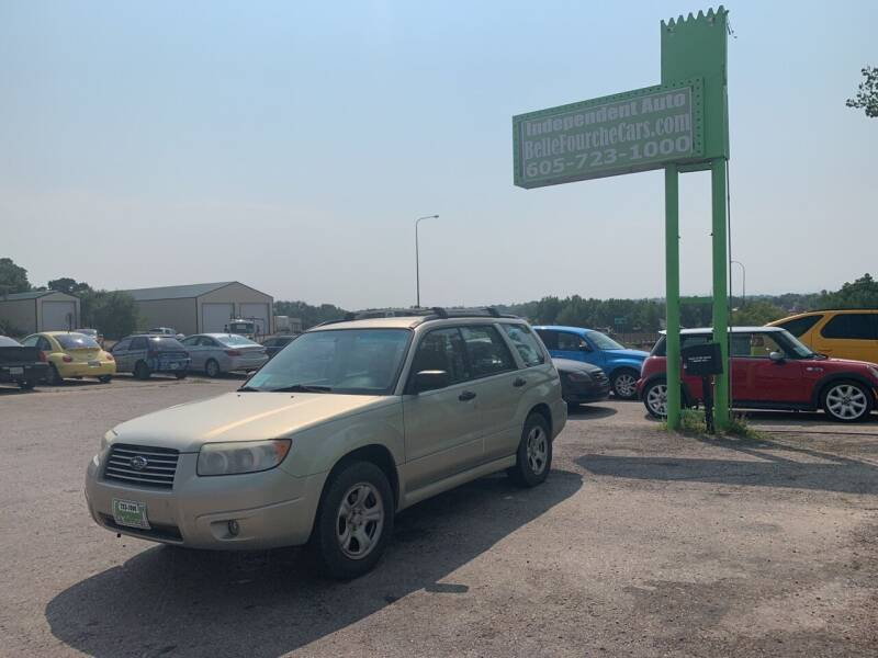 2006 Subaru Forester for sale at Independent Auto in Belle Fourche SD