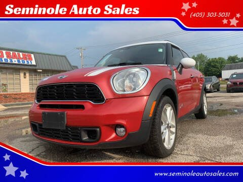2014 MINI Countryman for sale at Seminole Auto Sales in Seminole OK