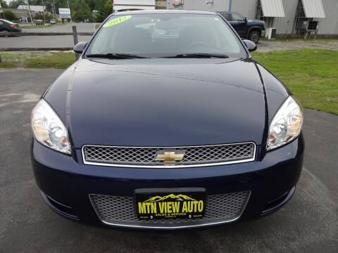 2012 Chevrolet Impala for sale at MOUNTAIN VIEW AUTO in Lyndonville VT