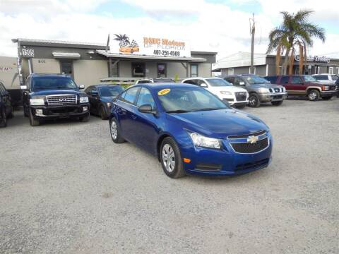 2012 Chevrolet Cruze for sale at DMC Motors of Florida in Orlando FL
