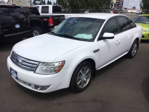 2008 Ford Taurus for sale at PJ's Auto Center in Salem OR