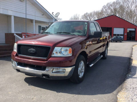 2004 Ford F-150 for sale at Ace Auto Sales - $1500 DOWN PAYMENTS in Fyffe AL