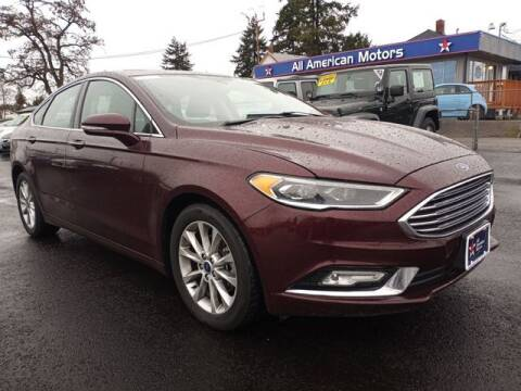 2017 Ford Fusion for sale at All American Motors in Tacoma WA