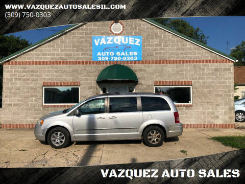 2009 Chrysler Town and Country for sale at VAZQUEZ AUTO SALES in Bloomington IL