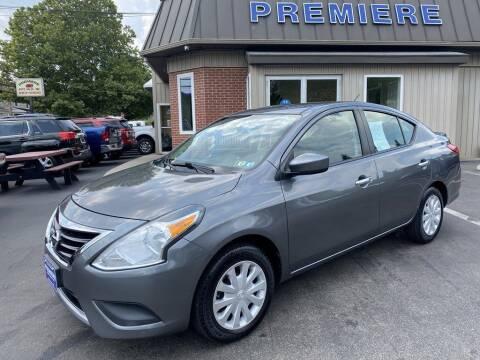 2016 Nissan Versa for sale at Premiere Auto Sales in Washington PA