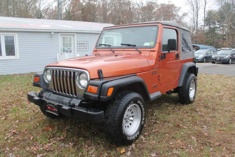 2002 Jeep Wrangler for sale at Manny's Auto Sales in Winslow NJ