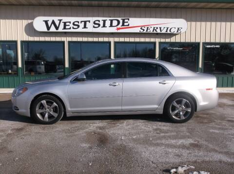 2011 Chevrolet Malibu for sale at West Side Service in Auburndale WI