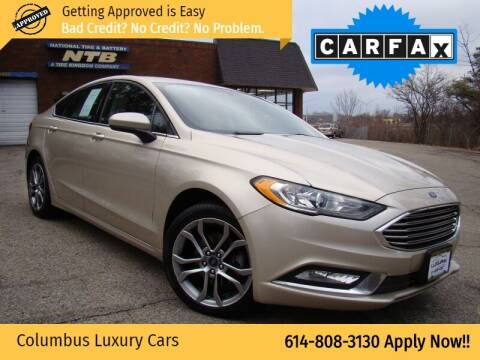 2017 Ford Fusion for sale at Columbus Luxury Cars in Columbus OH