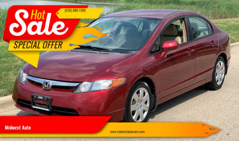 2007 Honda Civic for sale at Midwest Auto in Naperville IL