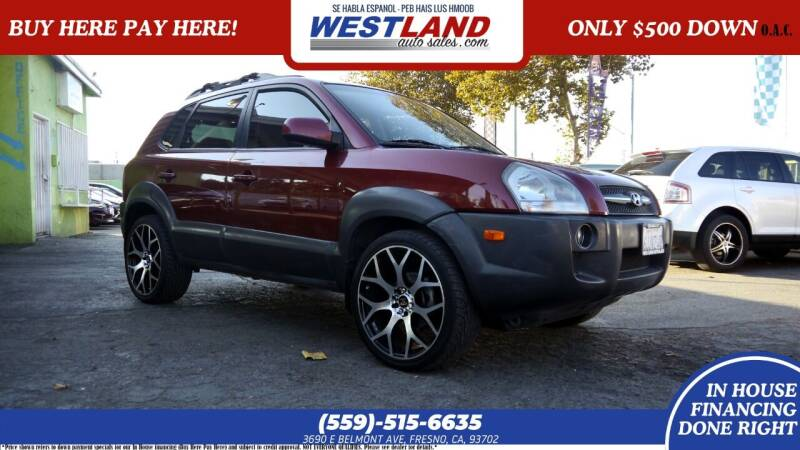 2008 Hyundai Tucson for sale at Westland Auto Sales on 7th in Fresno CA