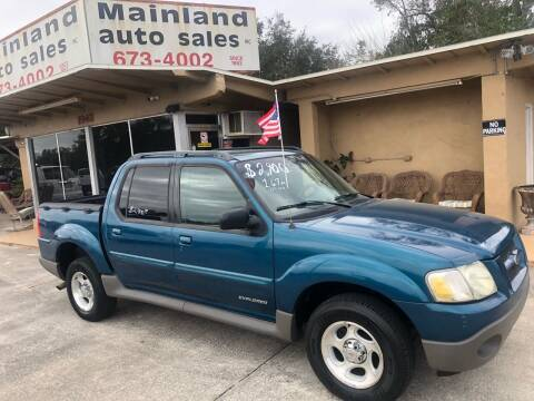 2002 Ford Explorer Sport Trac for sale at Mainland Auto Sales Inc in Daytona Beach FL