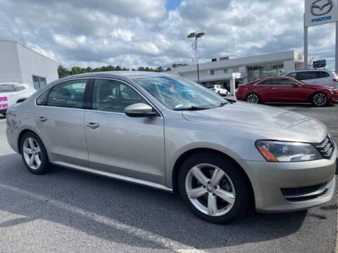 2012 Volkswagen Passat for sale at Southern Auto Solutions-Jim Ellis Volkswagen Atlan in Marietta GA