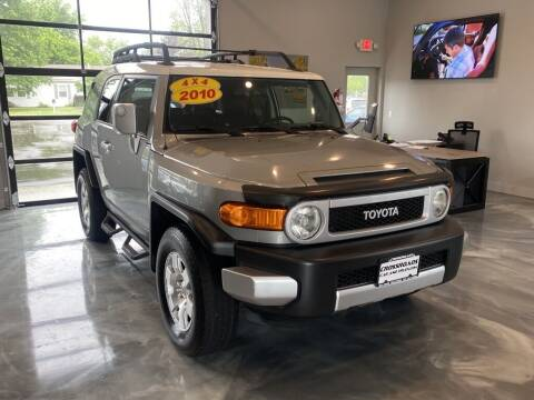 2010 Toyota FJ Cruiser for sale at Crossroads Car & Truck in Milford OH
