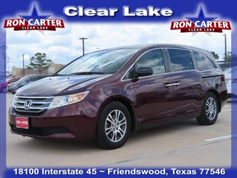 2013 Honda Odyssey for sale at Ron Carter  Clear Lake Used Cars in Houston TX