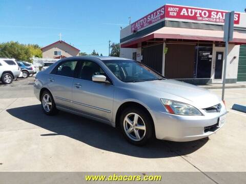 2005 Honda Accord for sale at About New Auto Sales in Lincoln CA