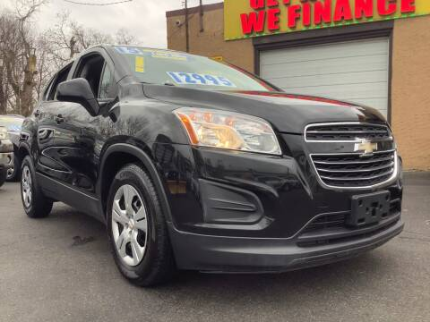 2015 Chevrolet Trax for sale at Active Auto Sales Inc in Philadelphia PA
