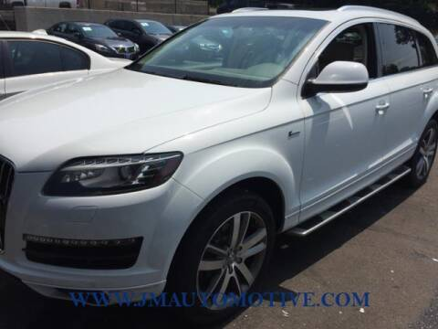 2014 Audi Q7 for sale at J & M Automotive in Naugatuck CT