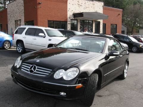 2005 Mercedes-Benz CLK for sale at Atlanta Unique Auto Sales in Norcross GA