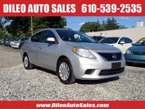 2013 Nissan Versa for sale at Dileo Auto Sales in Norristown PA