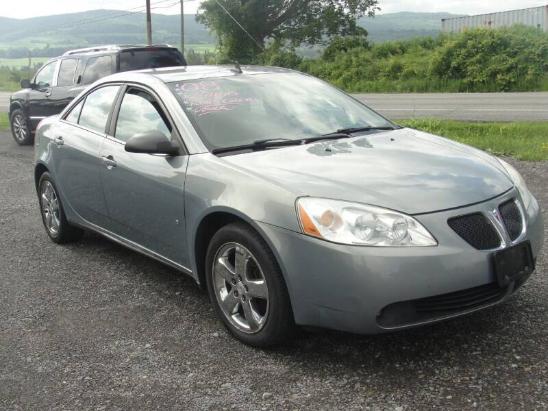 2008 Pontiac G6 for sale at Turnpike Auto Sales LLC in East Springfield NY