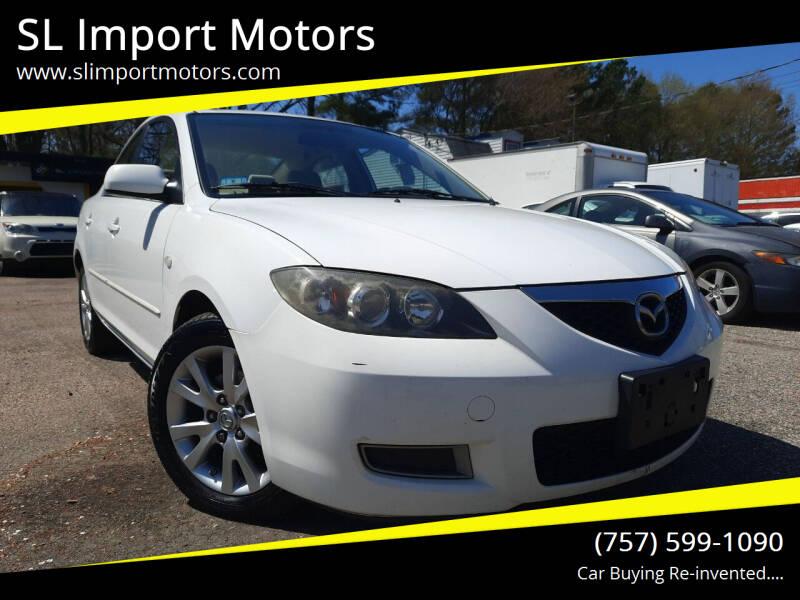 2008 Mazda MAZDA3 for sale at SL Import Motors in Newport News VA