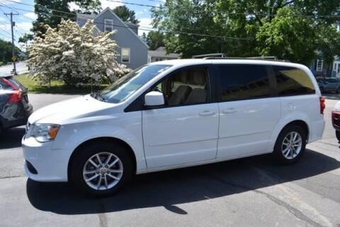 2016 Dodge Grand Caravan for sale at Absolute Auto Sales, Inc in Brockton MA