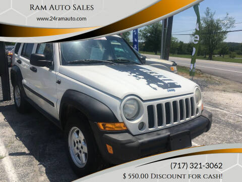 2007 Jeep Liberty for sale at Ram Auto Sales in Gettysburg PA