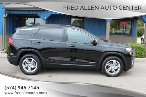 2018 GMC Terrain for sale at Fred Allen Auto Center in Winamac IN