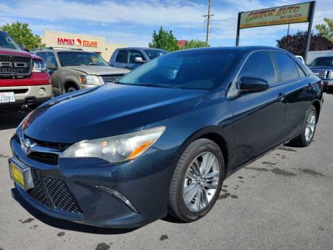 2015 Toyota Camry for sale at Canyon Auto Sales in Orem UT