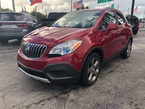 2013 Buick Encore for sale at Gtr Motors in Fort Lauderdale FL