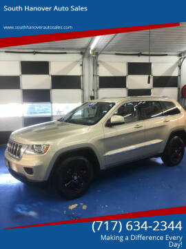 2011 Jeep Grand Cherokee for sale at South Hanover Auto Sales in Hanover PA