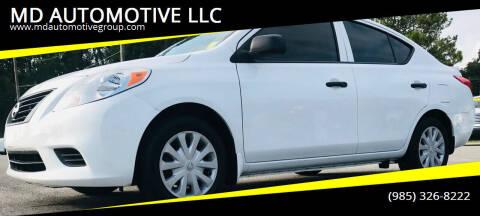 2014 Nissan Versa for sale at MD AUTOMOTIVE LLC in Slidell LA