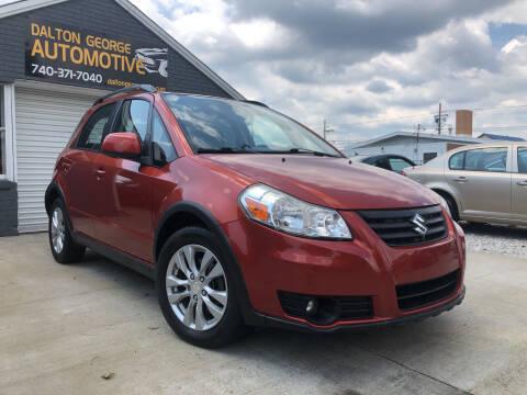 2013 Suzuki SX4 Crossover for sale at Dalton George Automotive in Marietta OH