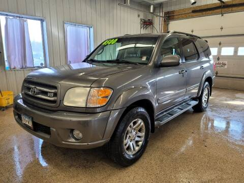 2003 Toyota Sequoia for sale at Sand's Auto Sales in Cambridge MN