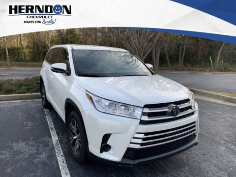 2018 Toyota Highlander for sale at Herndon Chevrolet in Lexington SC
