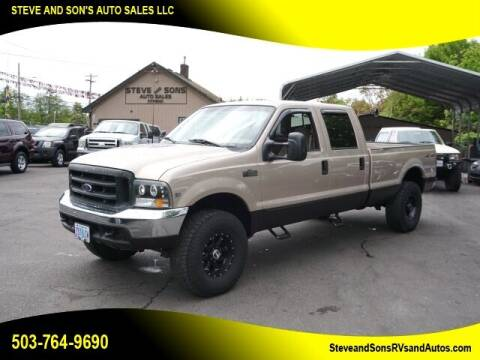 1999 Ford F-350 Super Duty for sale at Steve & Sons Auto Sales in Happy Valley OR