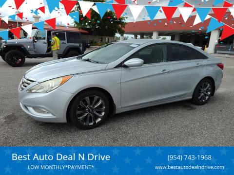 2011 Hyundai Sonata for sale at Best Auto Deal N Drive in Hollywood FL