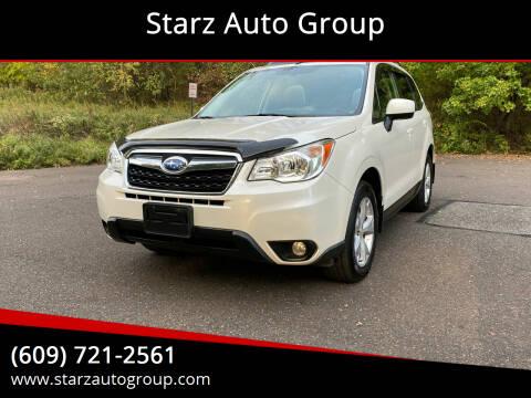 2015 Subaru Forester for sale at Starz Auto Group in Delran NJ