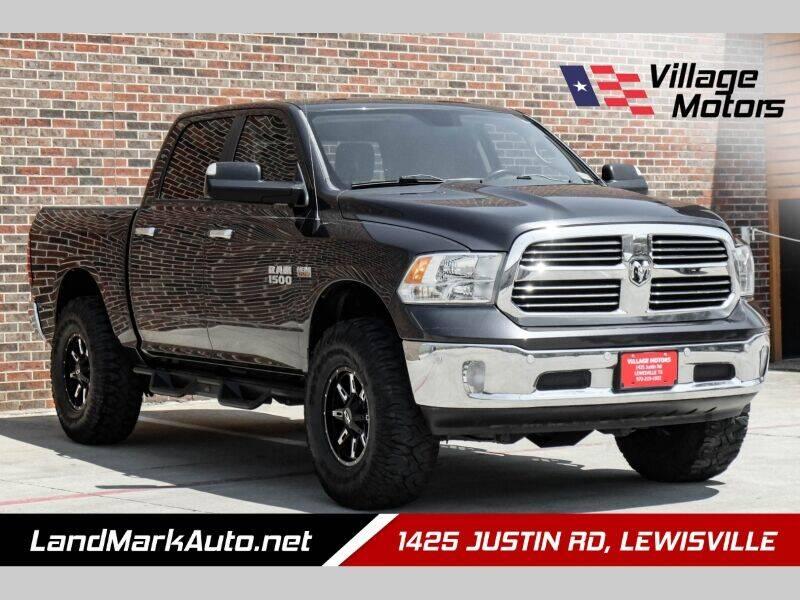 2015 RAM Ram Pickup 1500 for sale at Village Motors in Lewisville TX