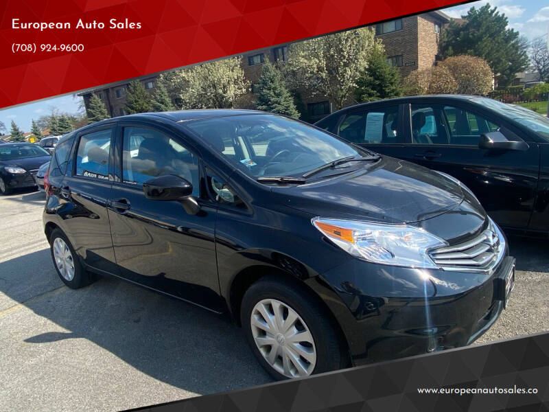 2015 Nissan Versa Note for sale at European Auto Sales in Bridgeview IL