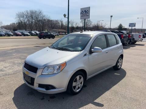 2011 Chevrolet Aveo for sale at Peak Motors in Loves Park IL