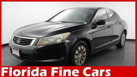 2009 Honda Accord for sale at Florida Fine Cars - West Palm Beach in West Palm Beach FL