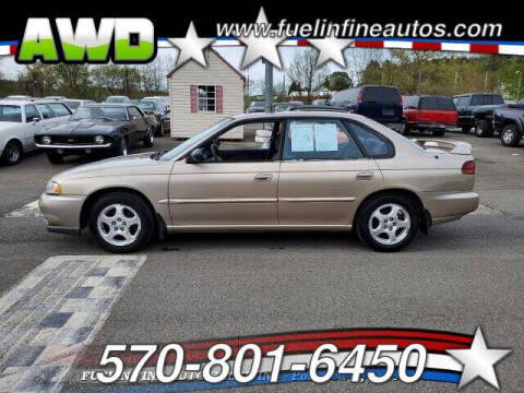 1999 Subaru Legacy for sale at FUELIN FINE AUTO SALES INC in Saylorsburg PA