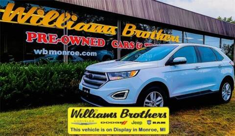 2017 Ford Edge for sale at Williams Brothers - Pre-Owned Monroe in Monroe MI
