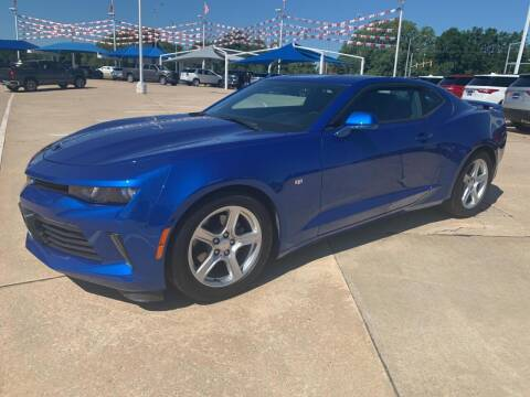 2018 Chevrolet Camaro for sale at JOHN HOLT AUTO GROUP, INC. in Chickasha OK