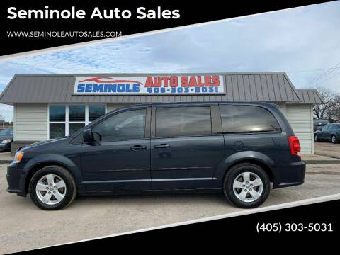 2013 Dodge Grand Caravan for sale at Seminole Auto Sales in Seminole OK