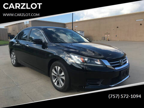 2013 Honda Accord for sale at CARZLOT in Portsmouth VA
