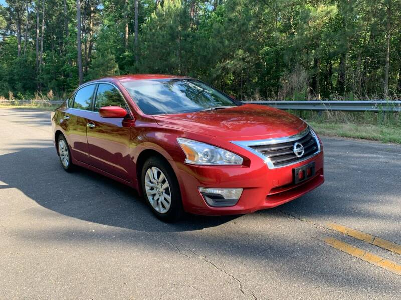 2015 Nissan Altima for sale at Carrera AutoHaus Inc in Clayton NC