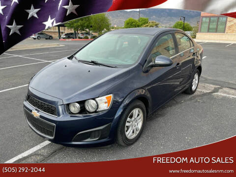 2016 Chevrolet Sonic for sale at Freedom Auto Sales in Albuquerque NM